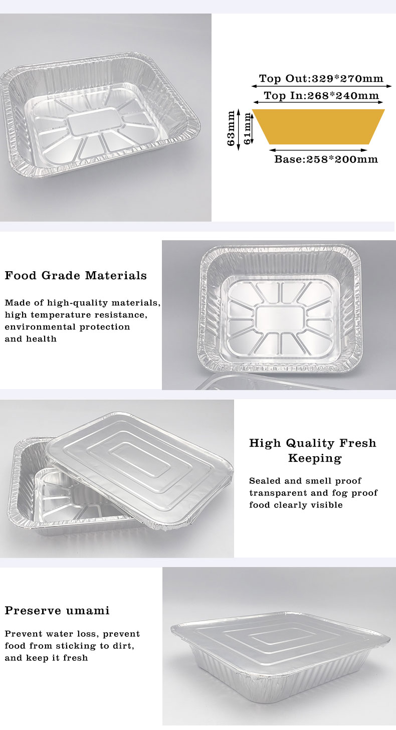 aluminium food containers with lids