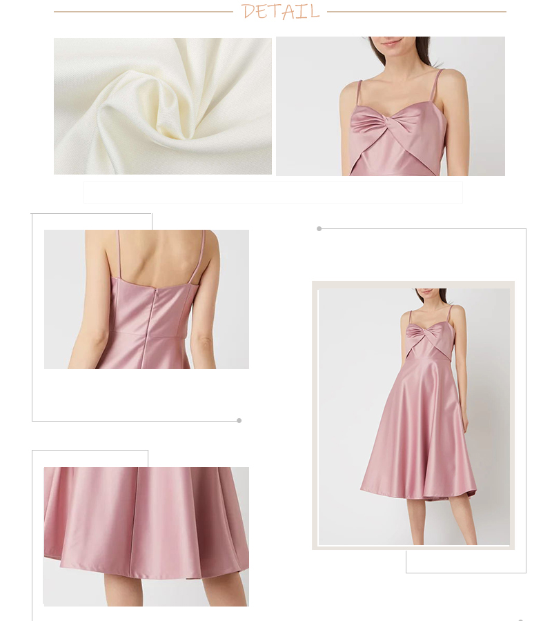 Bow cocktail dress