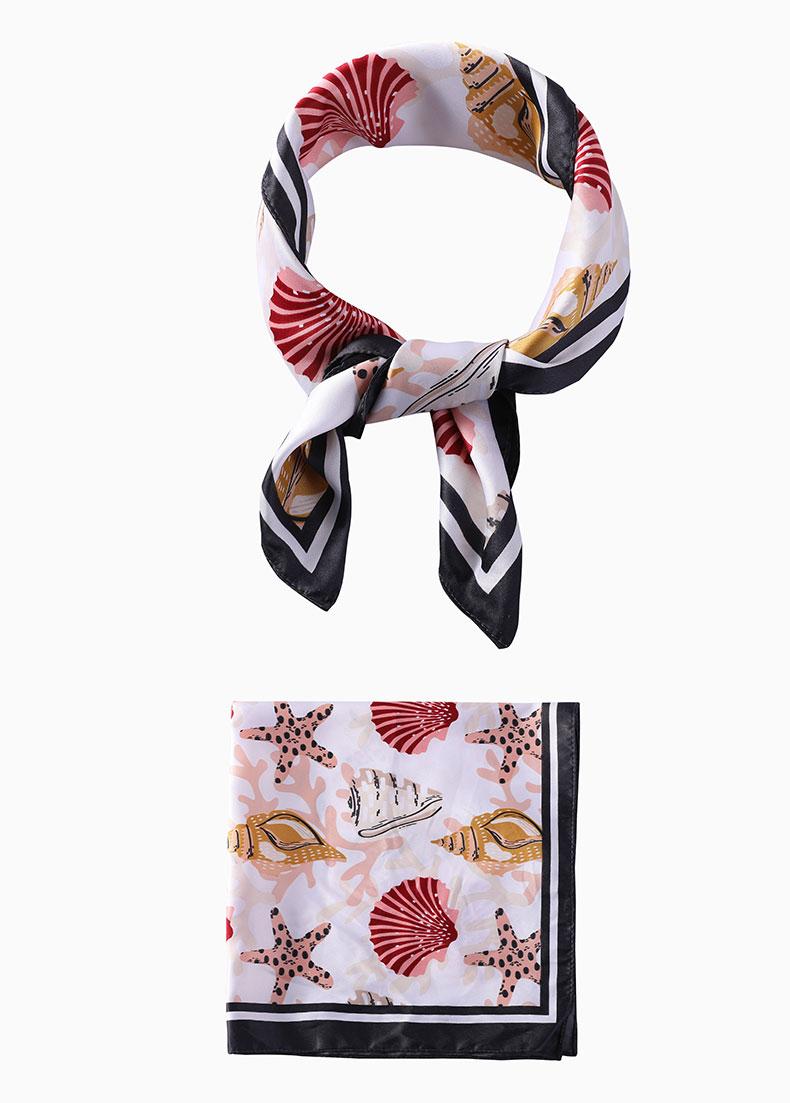silk hair scarf Factory