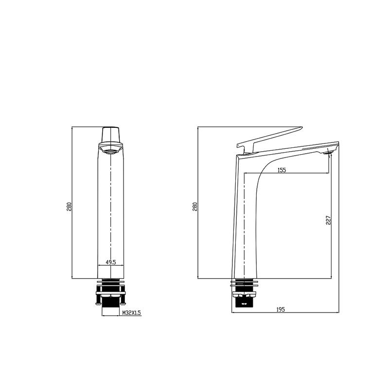High Body Basin Faucet manufacturers