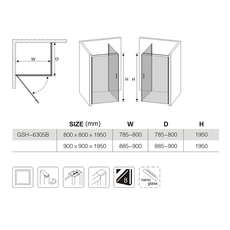 shower door enclosure parts manufacturers