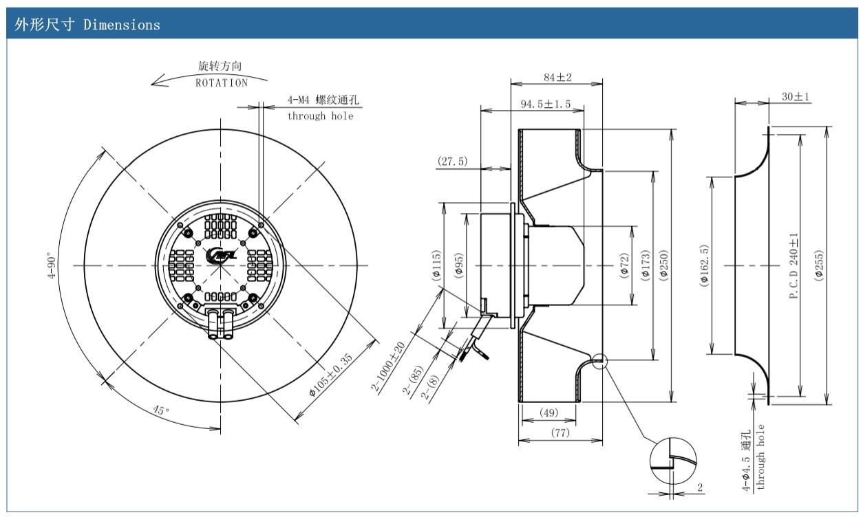 jual centrifugal fan