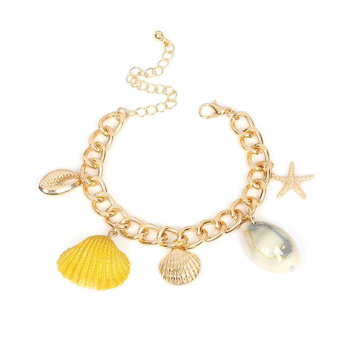 Shell Starfish Pearl Bracelets
