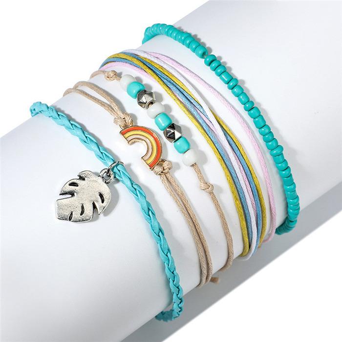 Boho Classic Gold Silver Bracelet