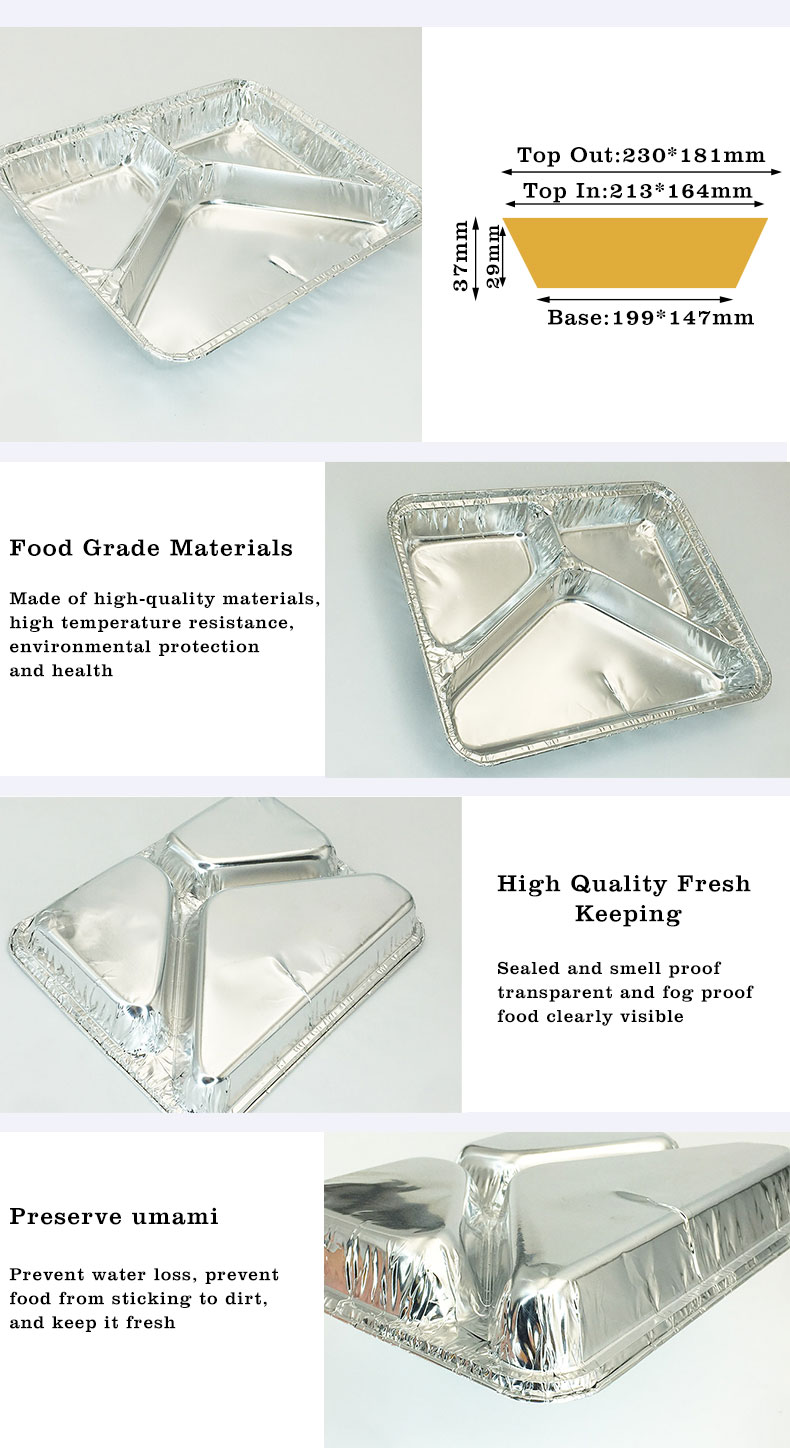 Aluminium foil containers wholesale in China