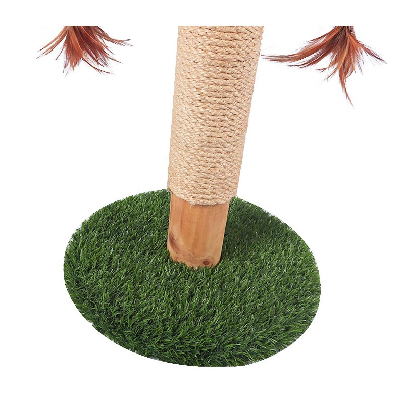 Hi to the solid wooden cat toy pet product
