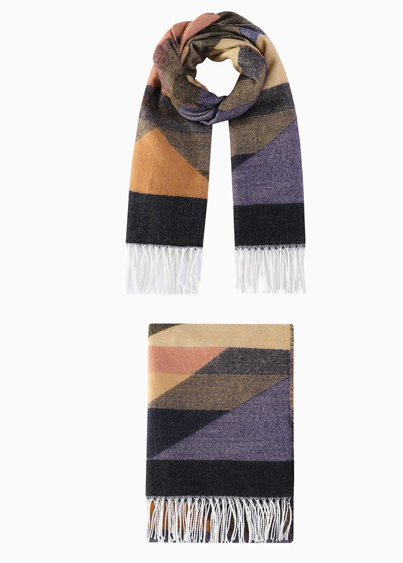 plaid scarf cashmere