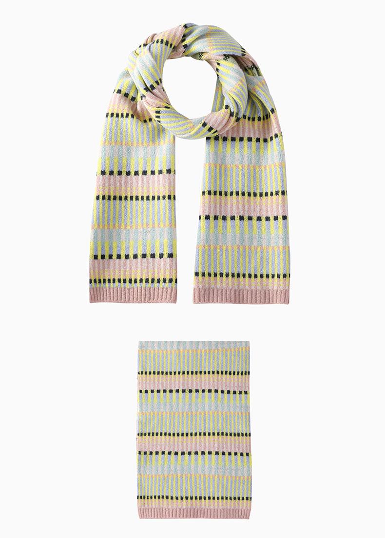 knit scarf pattern factory