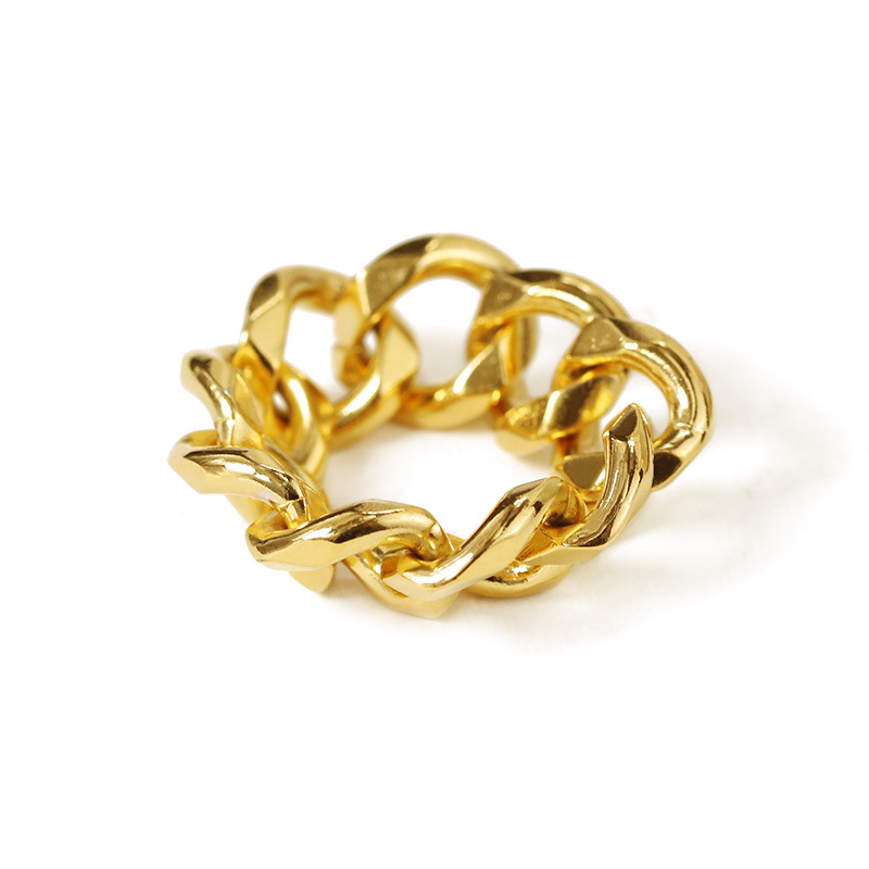 Personality hip-hop chain ring