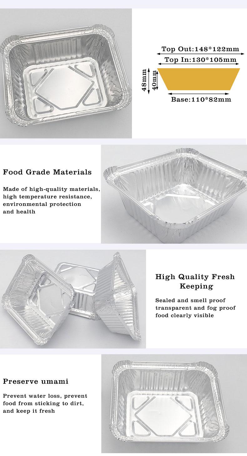bbq disposable aluminium foil trays manufacturers