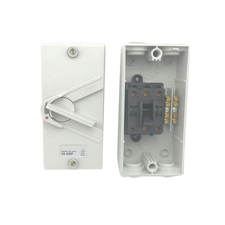 SAA Australia 1 Pole Weatherproof Mini Isolator Switch