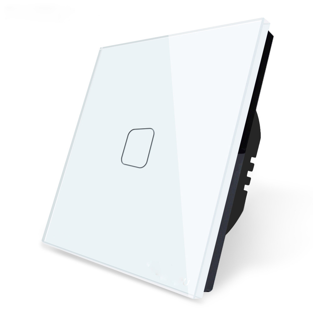 Wifi Smart Home Touch Switch Remote Control 1-4 Gang Tuya APP Wall Light Switch