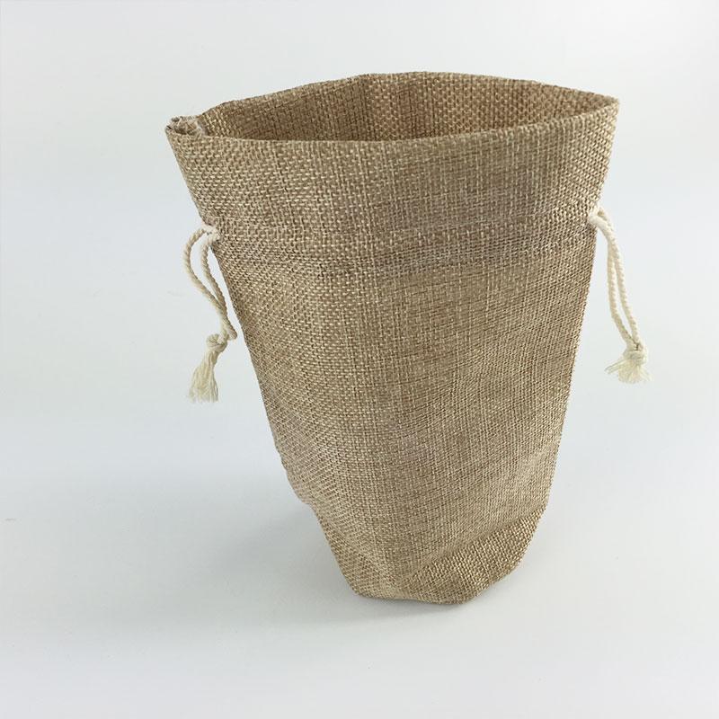 Artificial jute gift bag