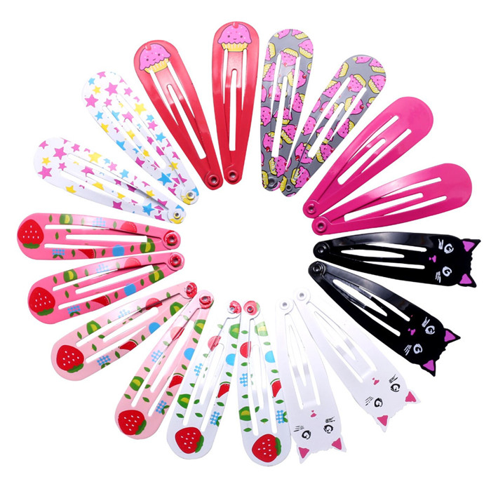 Hairpins Snap Hair Clips for Children