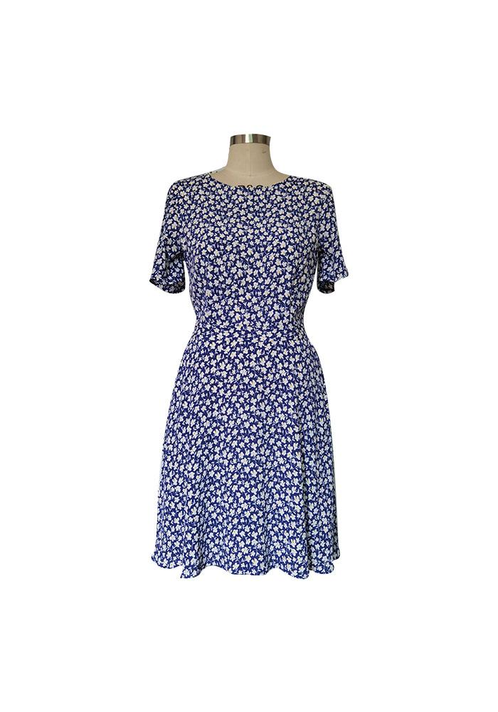 Livia floral print dress