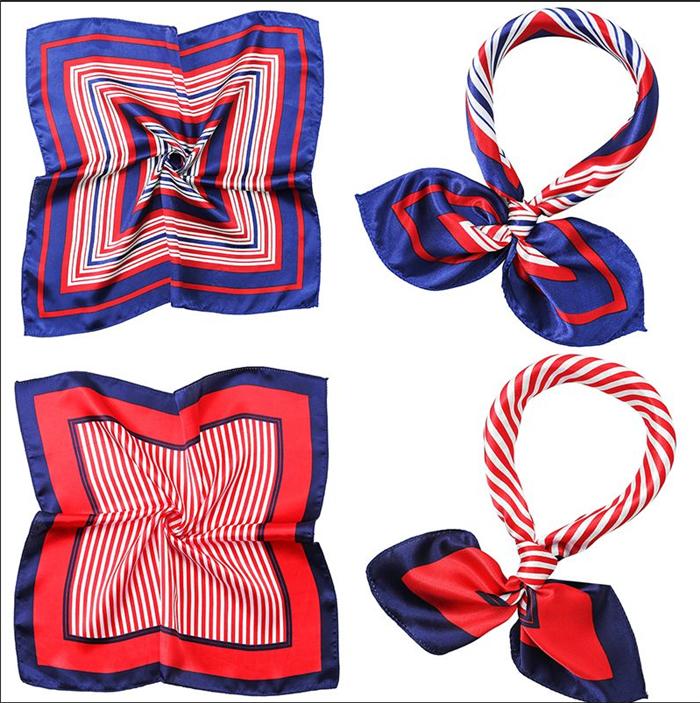 Silk Bag Scarves 50*50CM