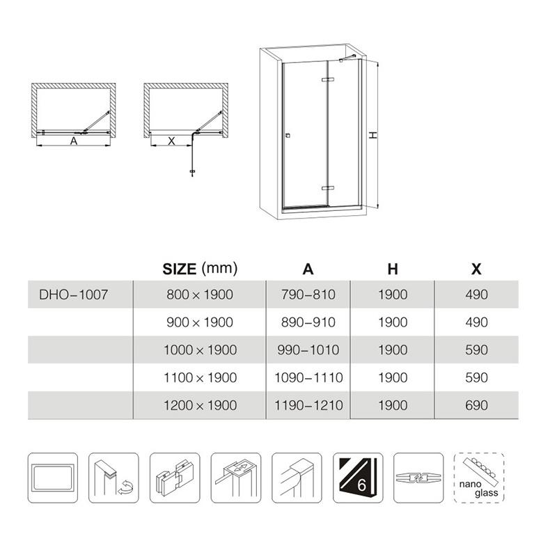 shower doors manufacturers near me