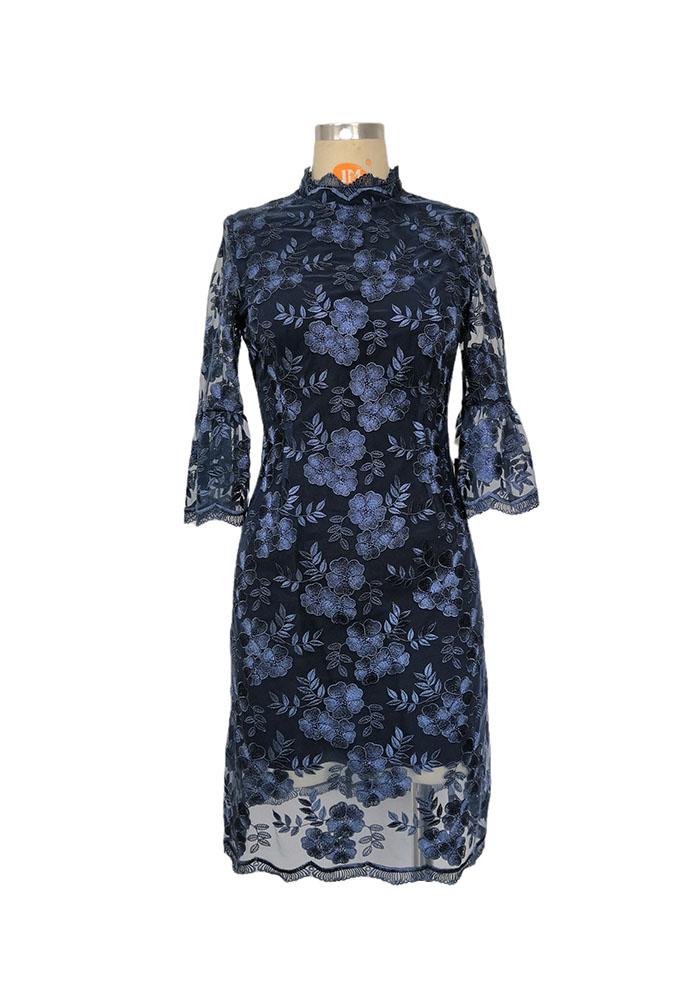 Floral EMB dress