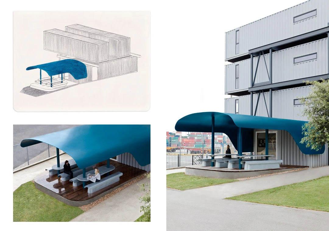 Villa container house