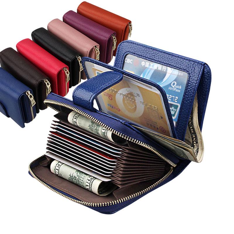 Metal Zipper Small Wallet