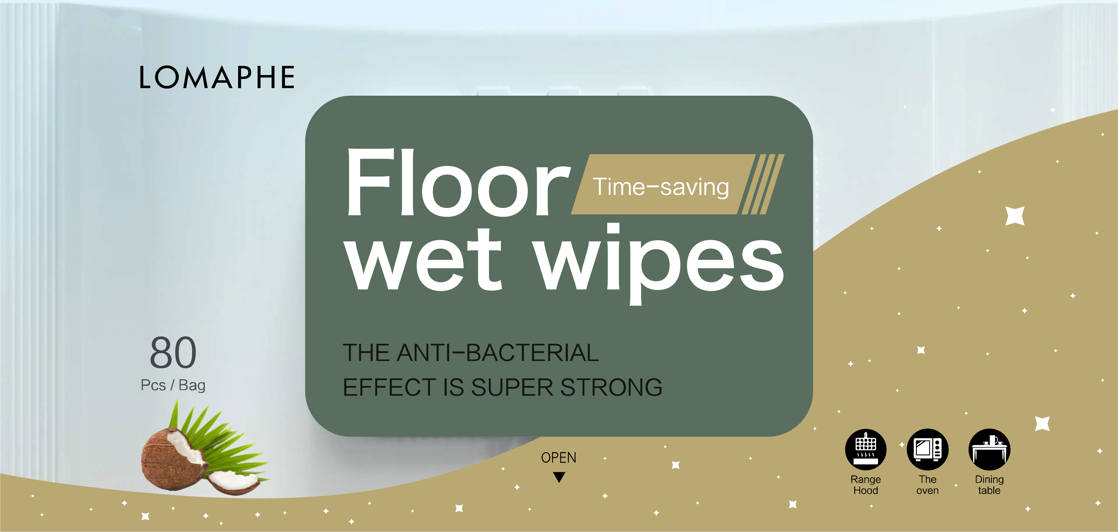 Household wet wipes factory