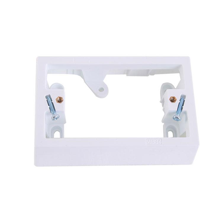 AU SAA 18mm 34mm Plastic Electrical Mounting Block
