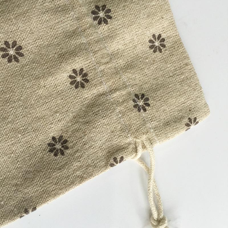 Linen gift bag