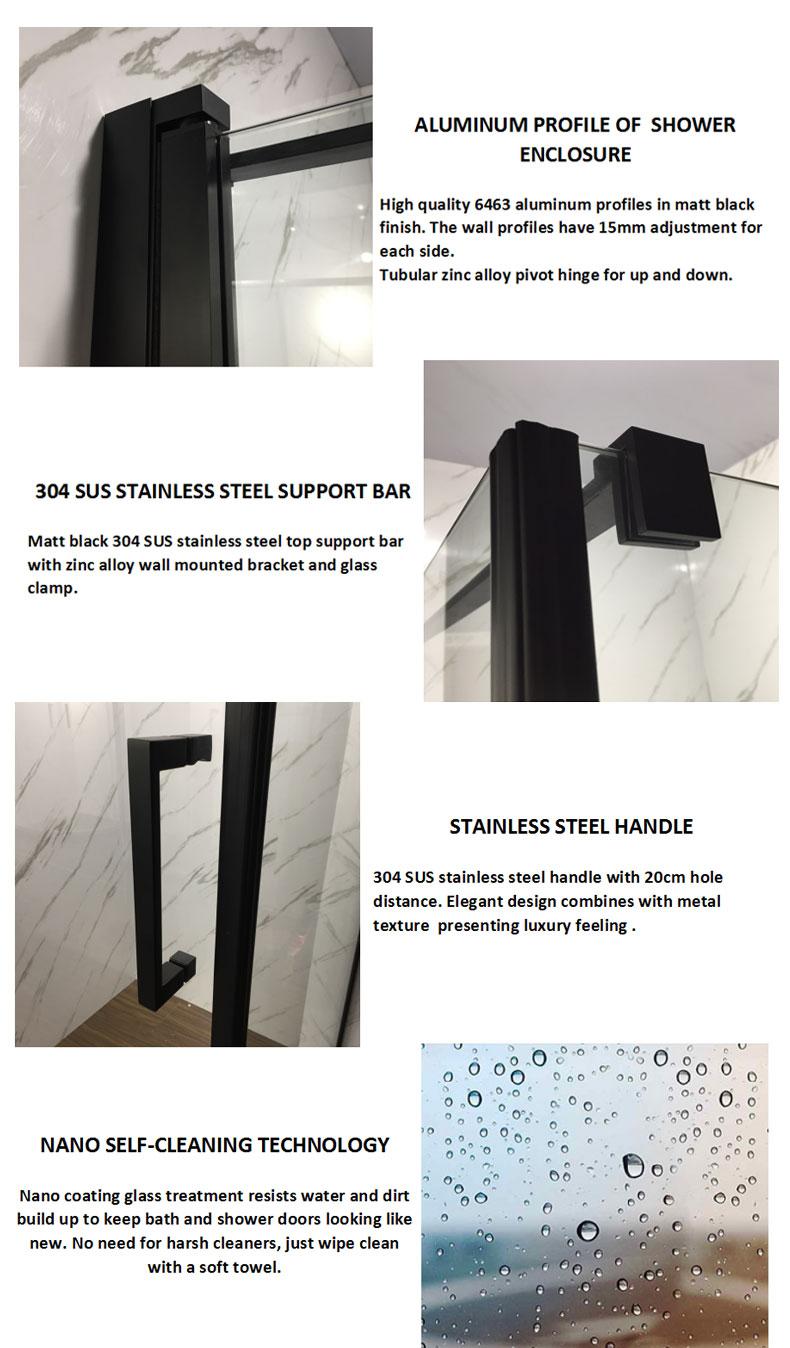 shower door enclosure parts