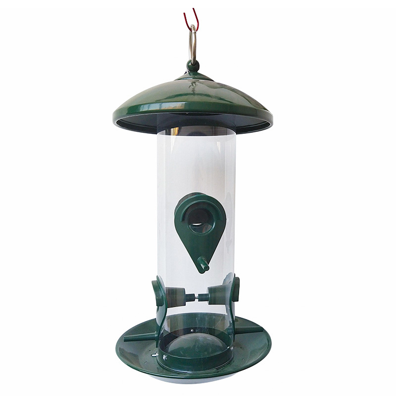 Ironwork bird feeder