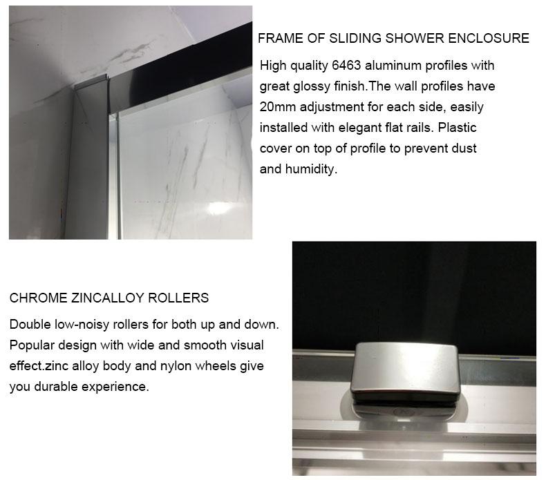 glass shower door enclosures manufacturers