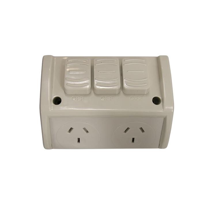 Australia 10A electrical Weatherproof Single Socket