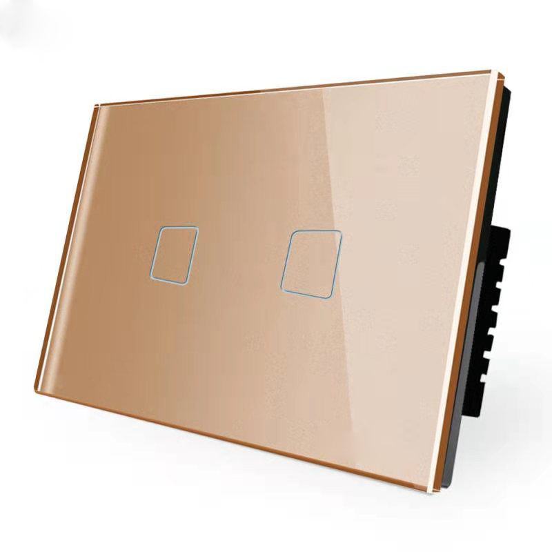1 2 3 4 Gang Glass Panel Smart Wifi Touch Switch