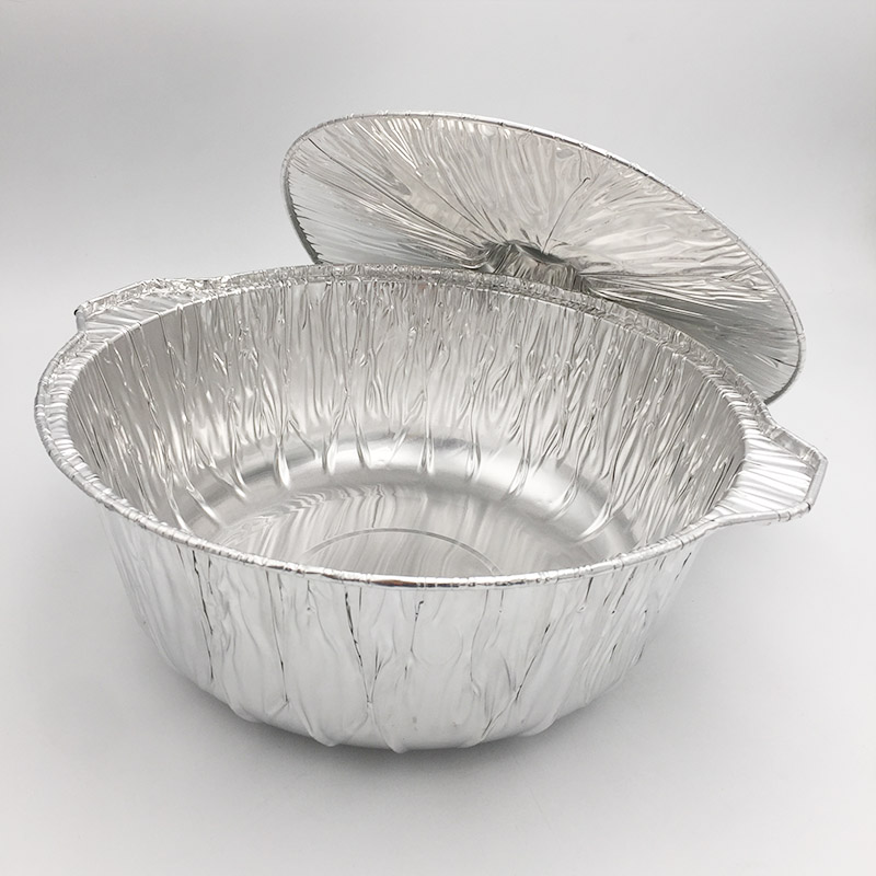 aluminum pots with lids