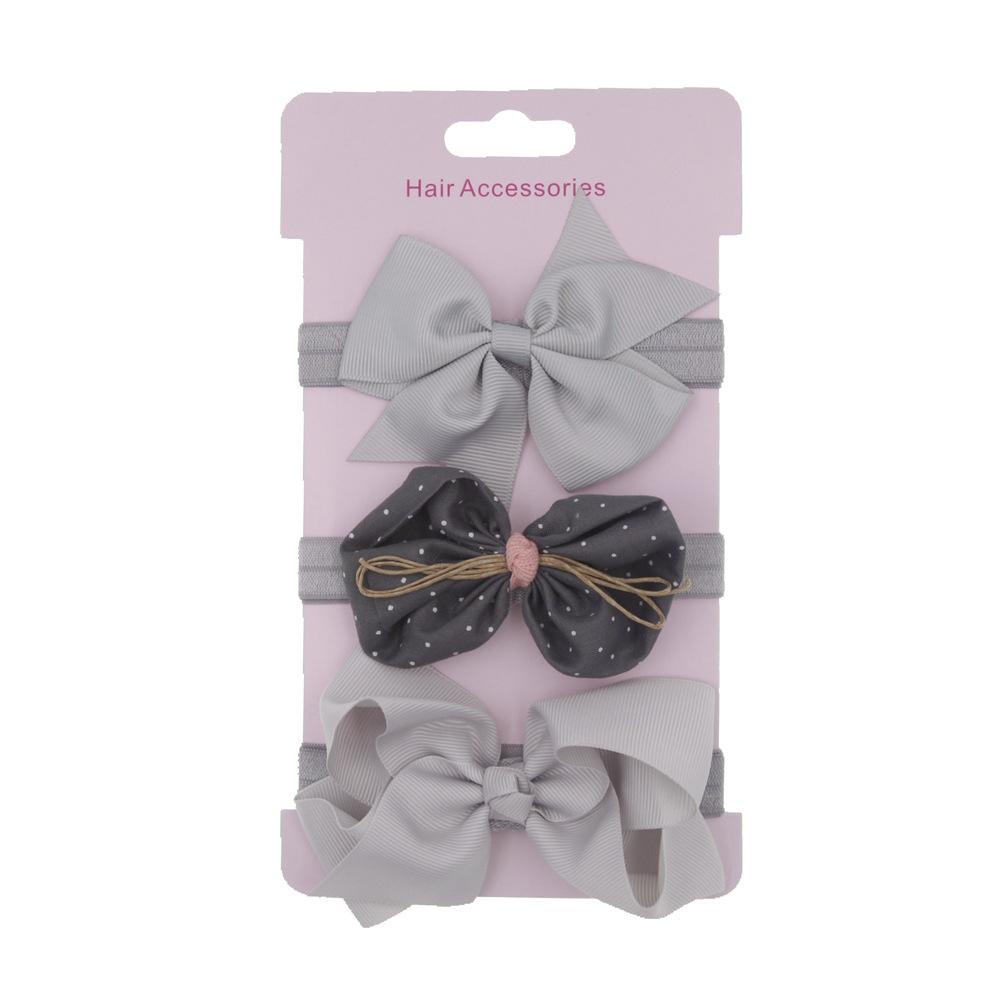 Bowknot headdress flower hair band