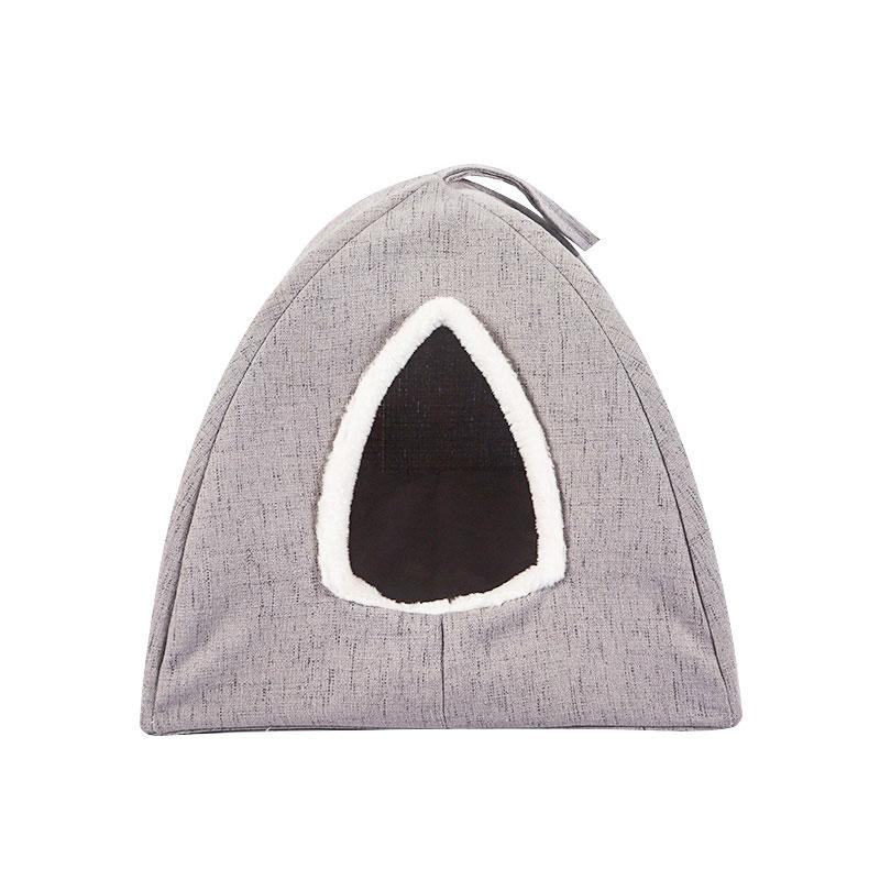 Semi-curved cat hammock pet supplies