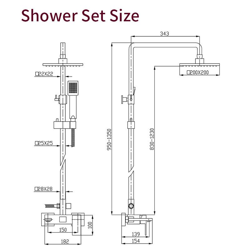 shower water mixer manufacturers
