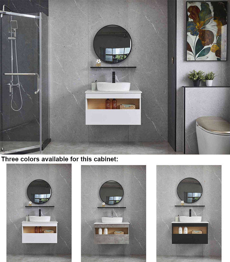 Bathroom cabinet waterproof