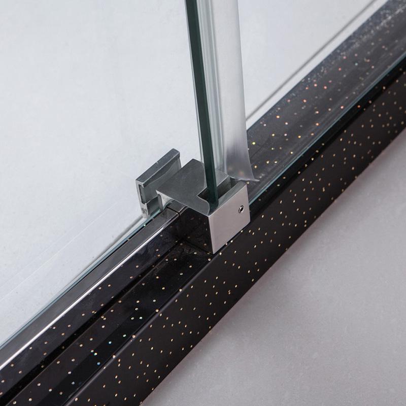semi frameless shower door manufacturers