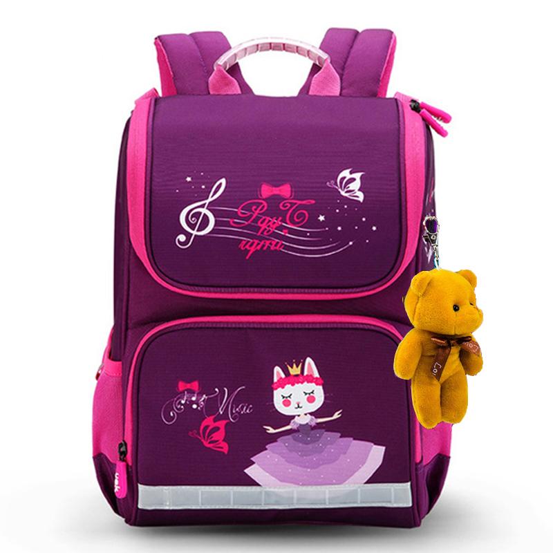 Cartoon School Bags Backpack for Girls Boys