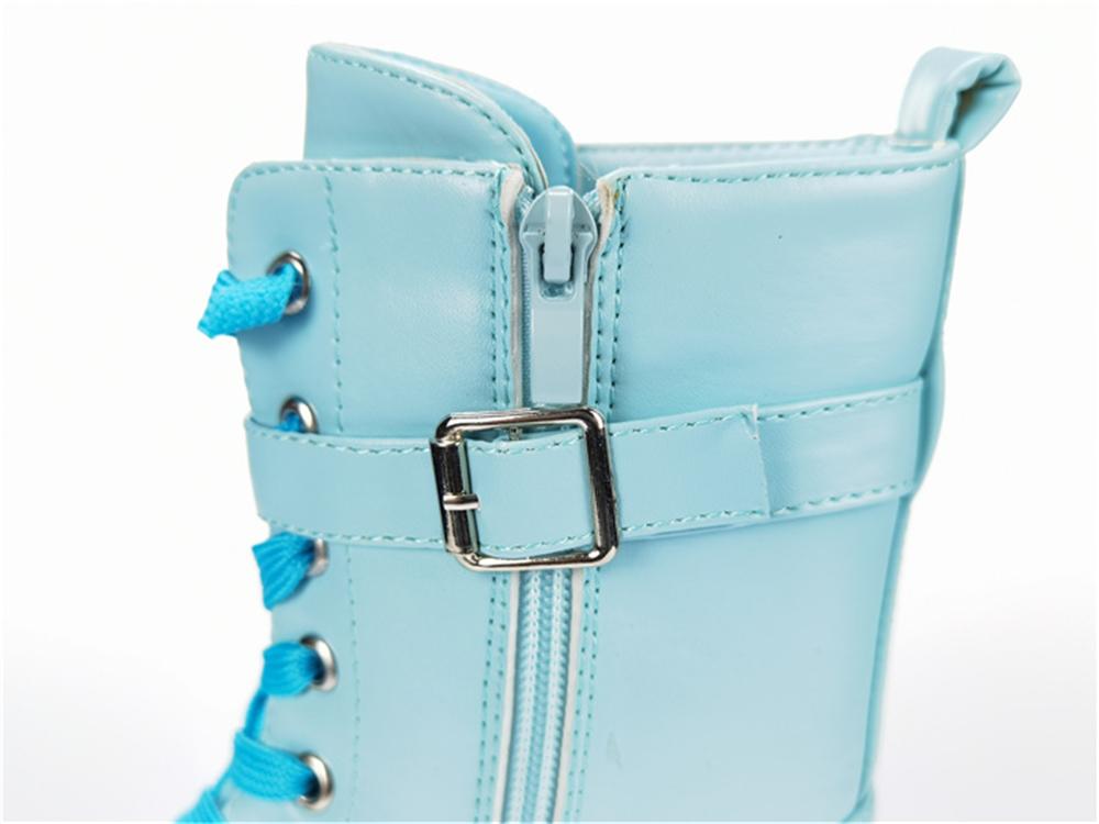 Women's PU shoes,Women's wedge stone shiny PU shoes
