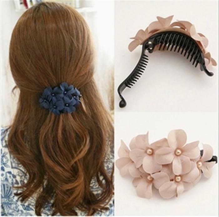 Six little flower hairpin