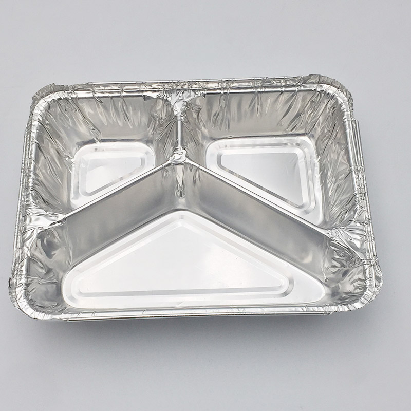 aluminium foil baking tray