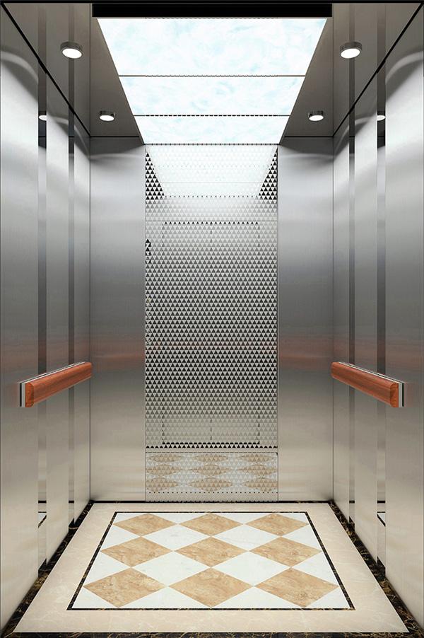 Mirror St. St. Ceiling Passenger Elevator