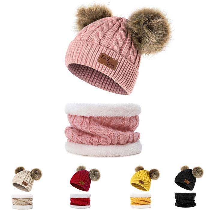 Baby Boys Pom Poms Hat