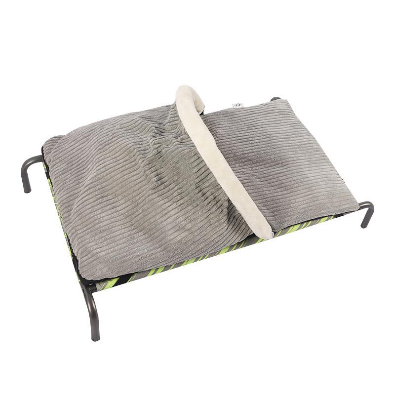 Split type semi-enclosed cat bed