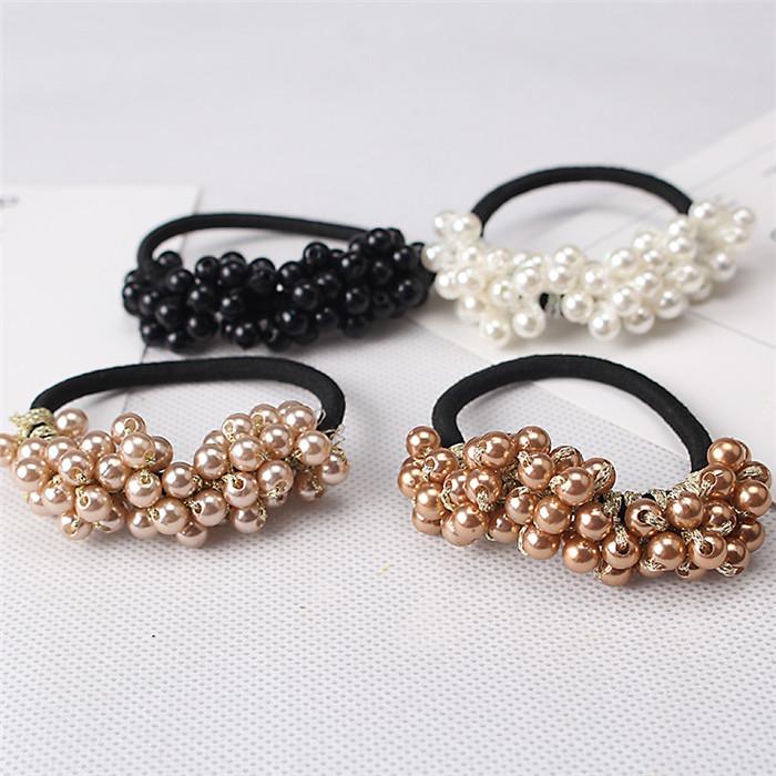 Women Hair Accessories Pearls Beads Headbands