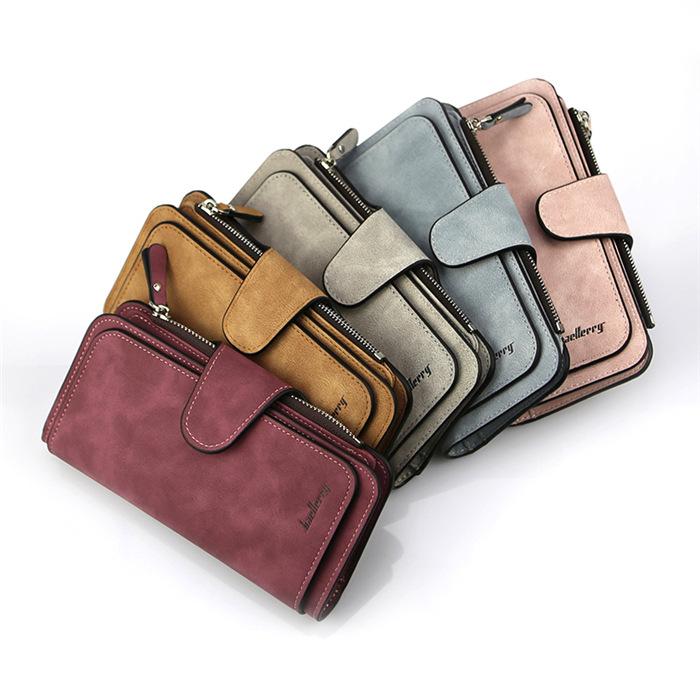 Zipper Pocket Hasp Wallet