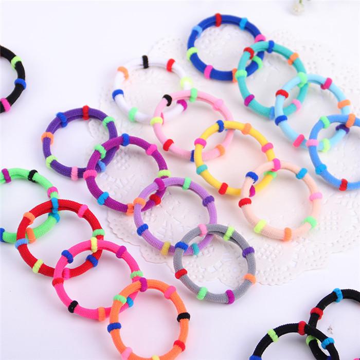 Candy Color Elastic Headband Hair Rope