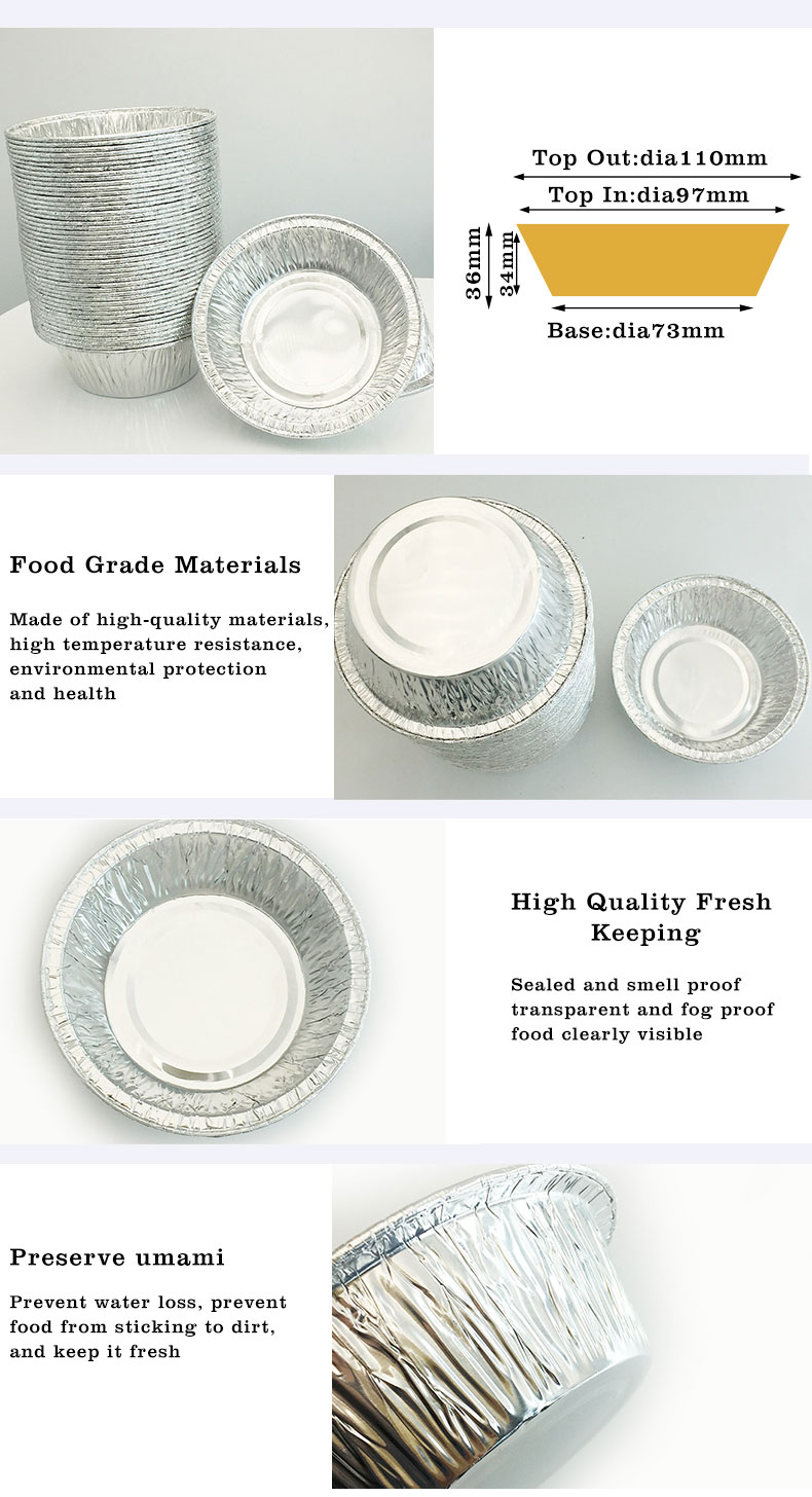 aluminium foil trays with lids small suppliers