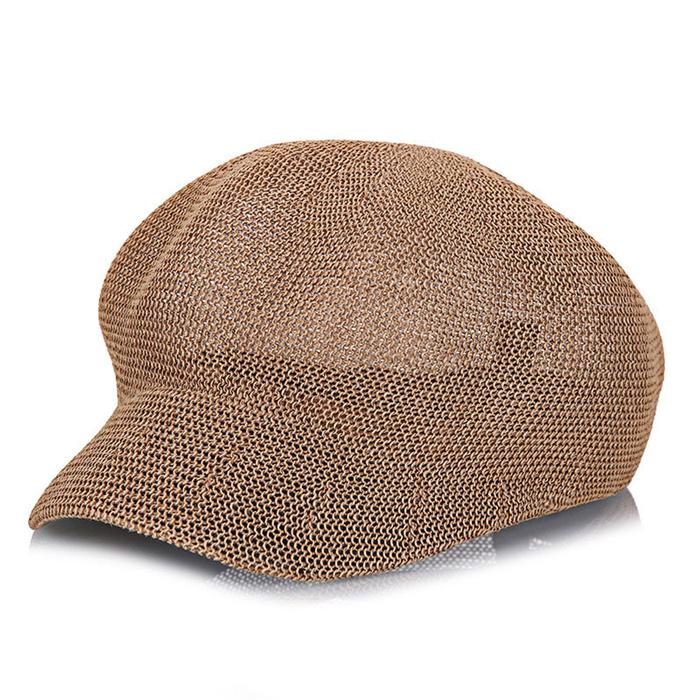 Women's Straw Knit Hat